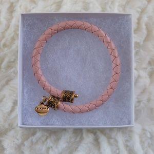 Alex and Ani Vintage 66 Pink & Gold Wrap Bracelet